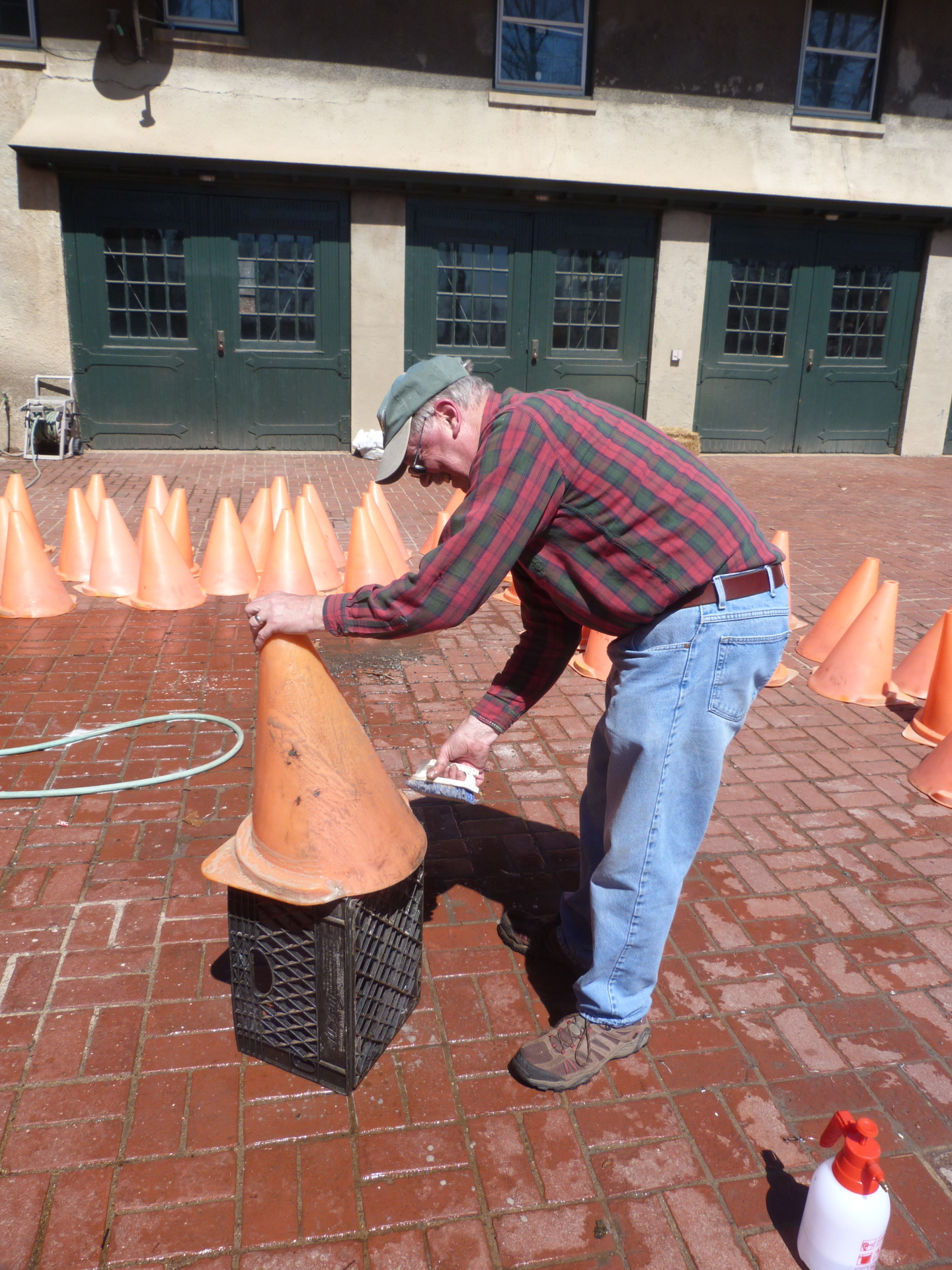Cleaning Cones