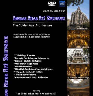 """DVD """"Buenos Aires Art Nouveau"""""""