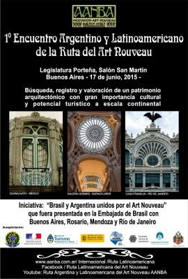 La Ruta Argentina y Latinoamericana del art Nouveau: el Encuentro 2015 en la Legislatura Porteña
