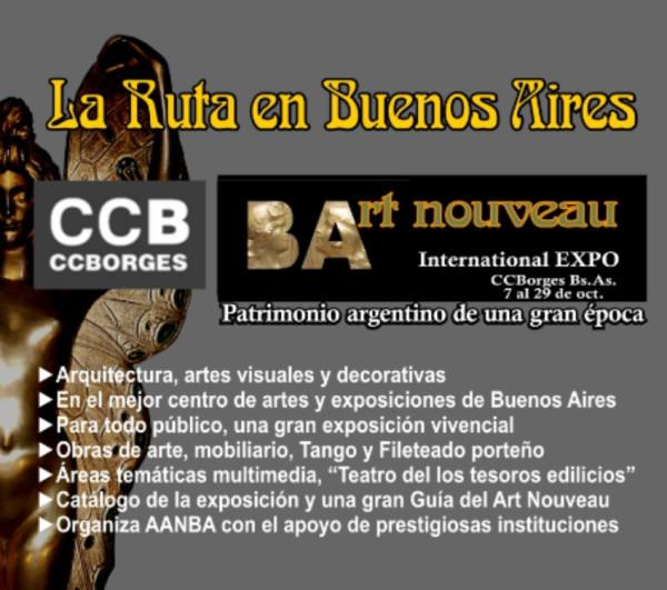 art nouveau expo argentina