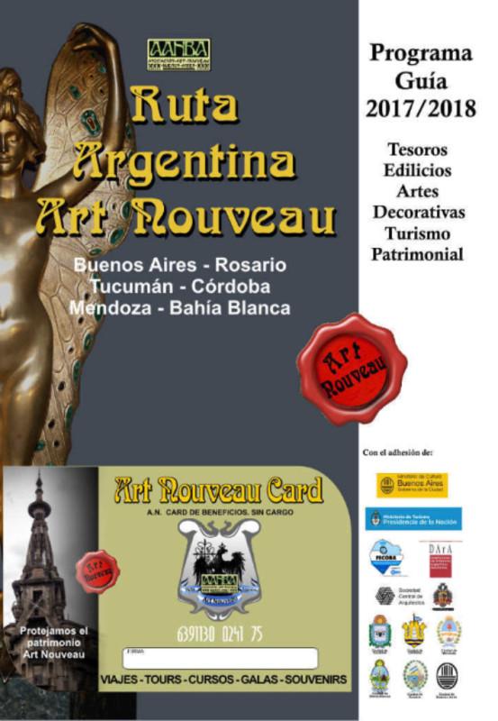 Art Nouveau guía programa AANBA
