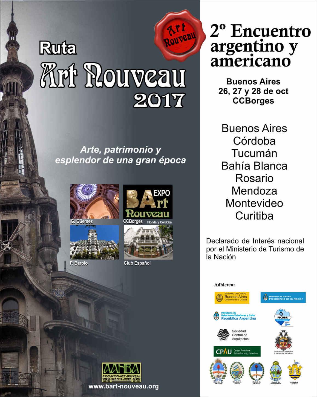 2° Encuentro Art Nouveau 2017