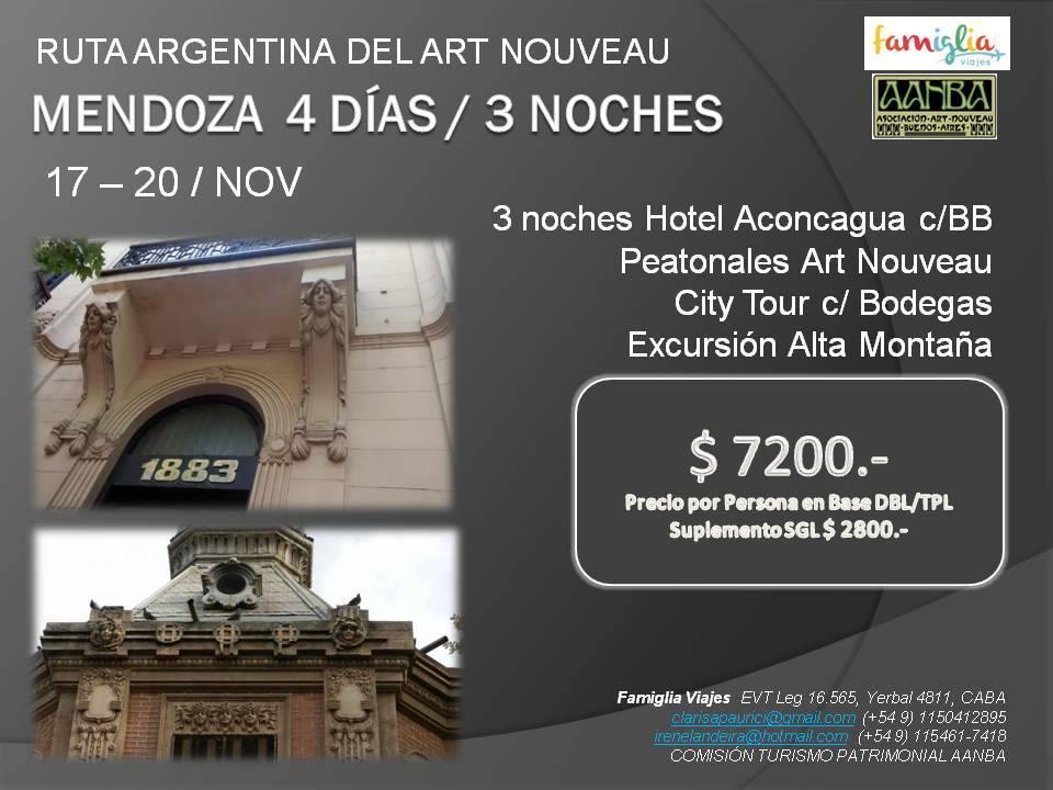 DVD ruta argentina art nouveau