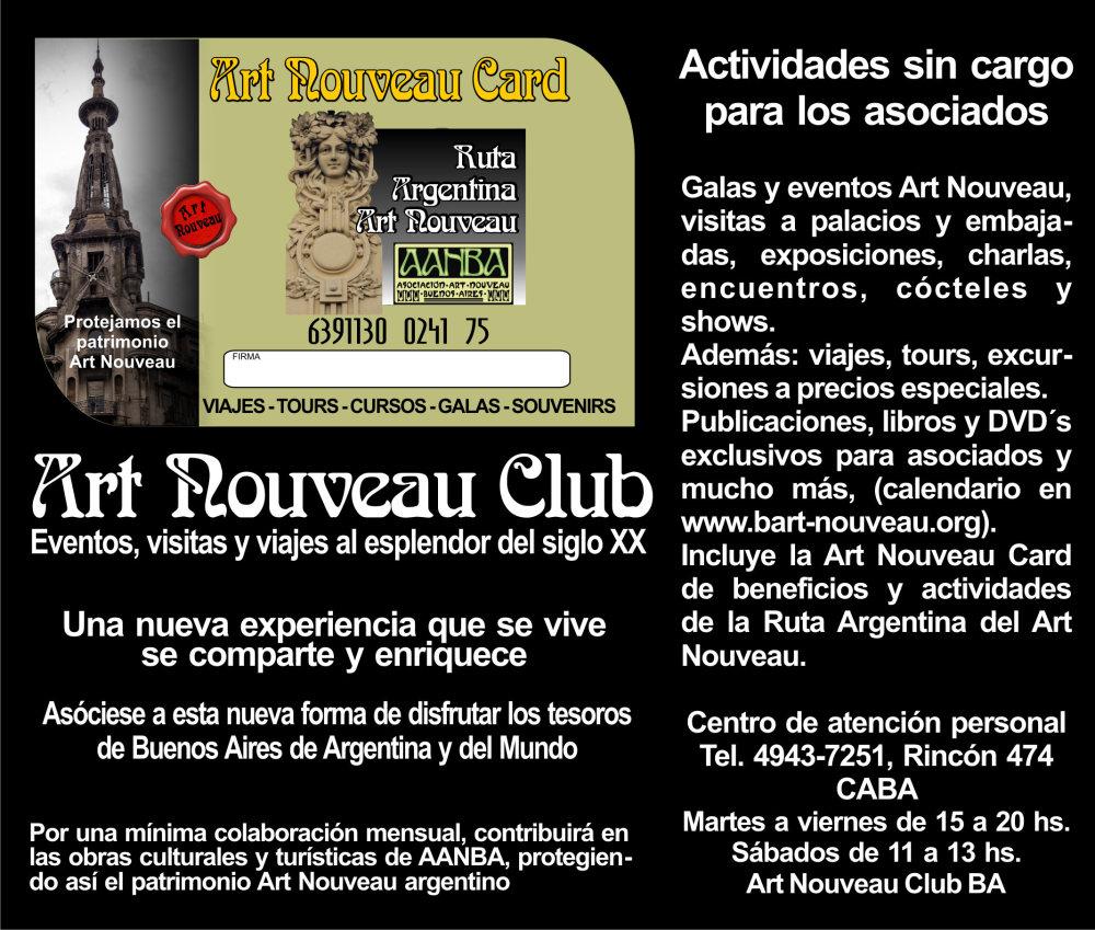 art nouveau club