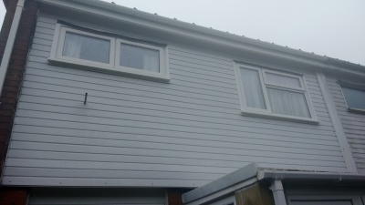 Afetr Gutters, Fascias and Cladding Cleaning