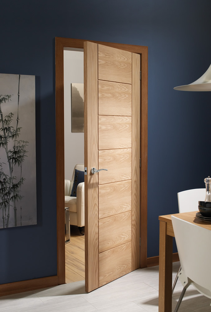 Ceiser Interal Oak Door