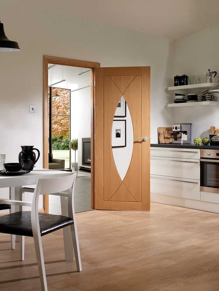 Pesaro Internal Oak Glazed Door