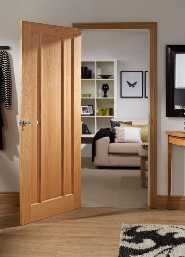 Marcui Internal Solid Oak Door