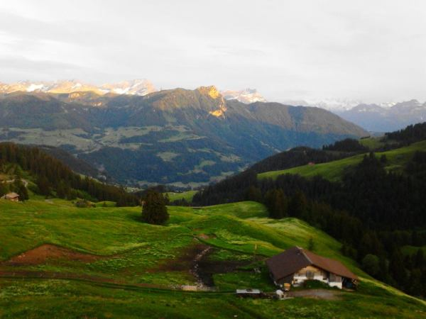 The Hills of the Austrian Alps