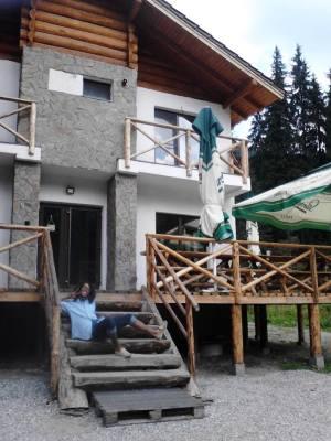 Hut in Romania Forest