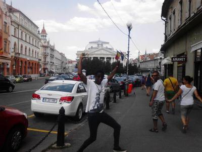 Street in Romania