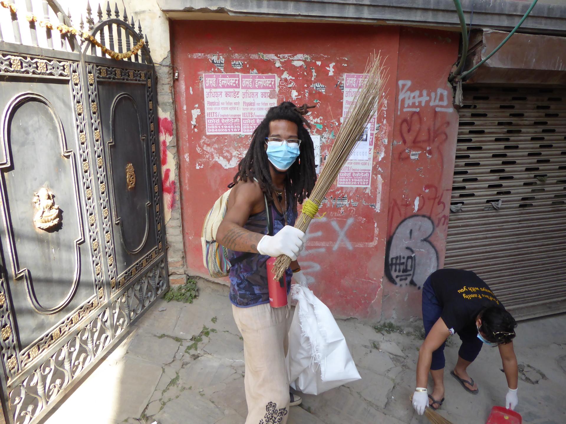 Street Cleaning Ninja