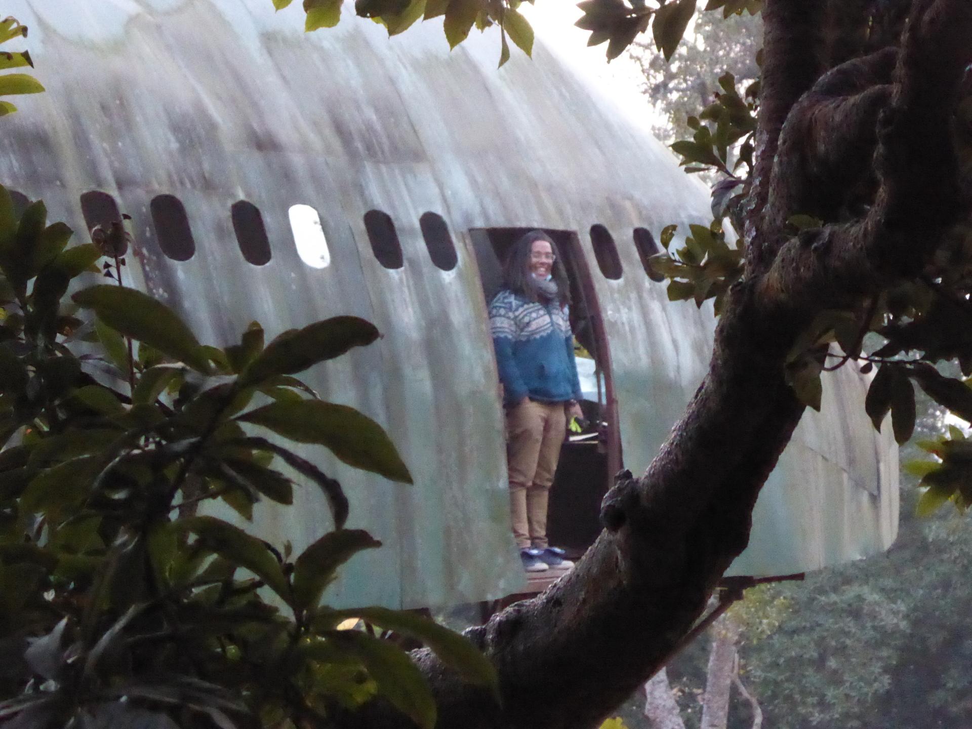 Found a plane...