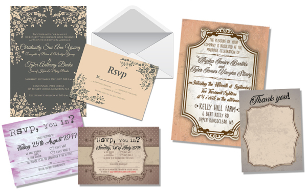 Invitations, RSVP and Thank You Cards
