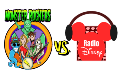 Monsters vs Radio Disney