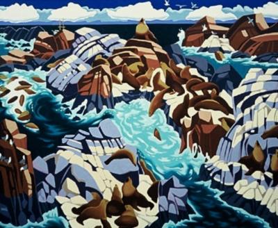Sea Lions, Cape Scott, Haida Gwai