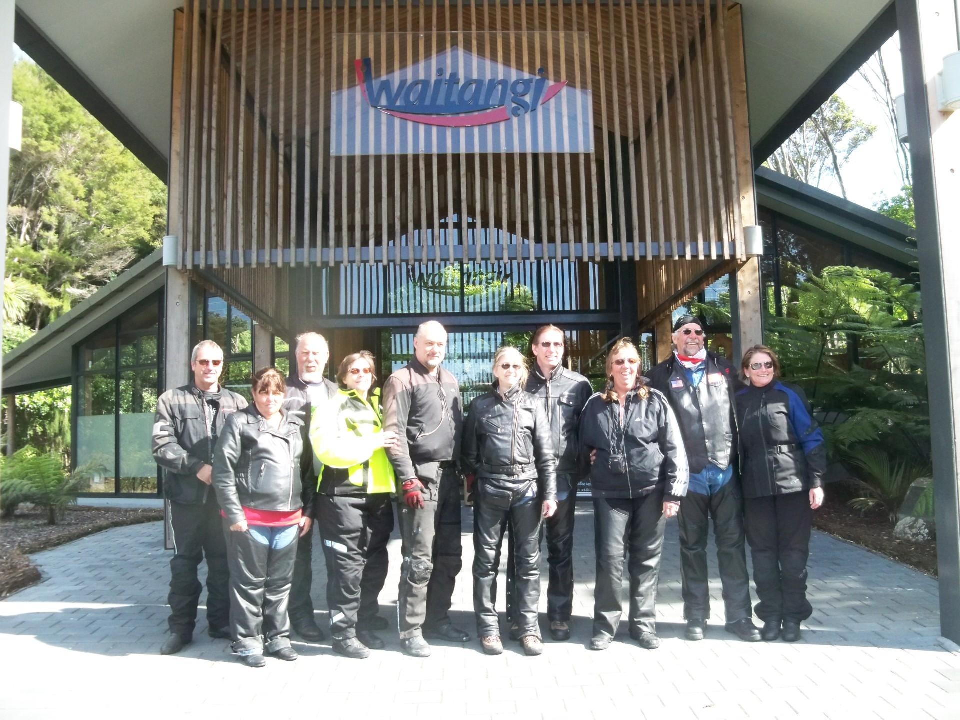 Visiting Waitangi - New Zealand