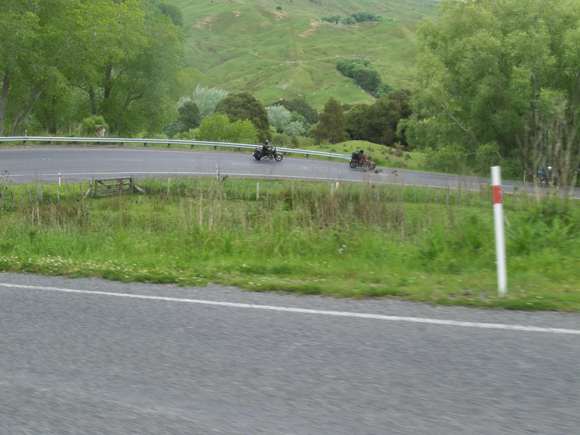 New Zealand corners.