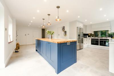 Hand Painted kitchen Godstone, Surrey.