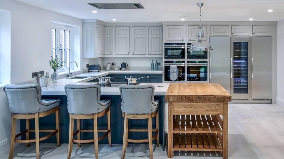 Hand painted kitchen Sevenoaks, Kent