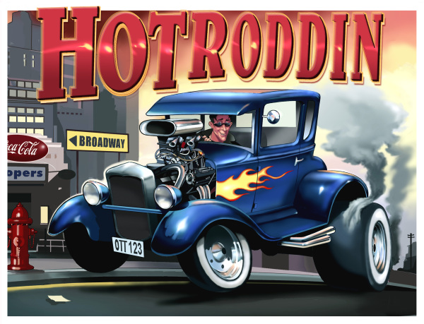 Hotroddin'