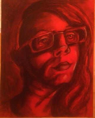 Conte Self Portrait
