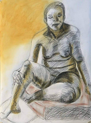 Large life drawing