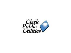 Clark PUD logo on the Pacific Northwest Lineman Rodeo home page