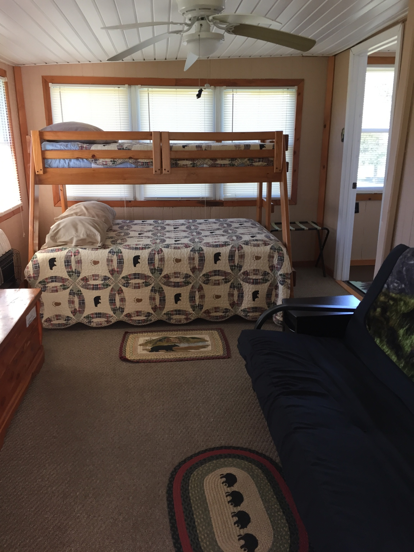 The Bunk House room