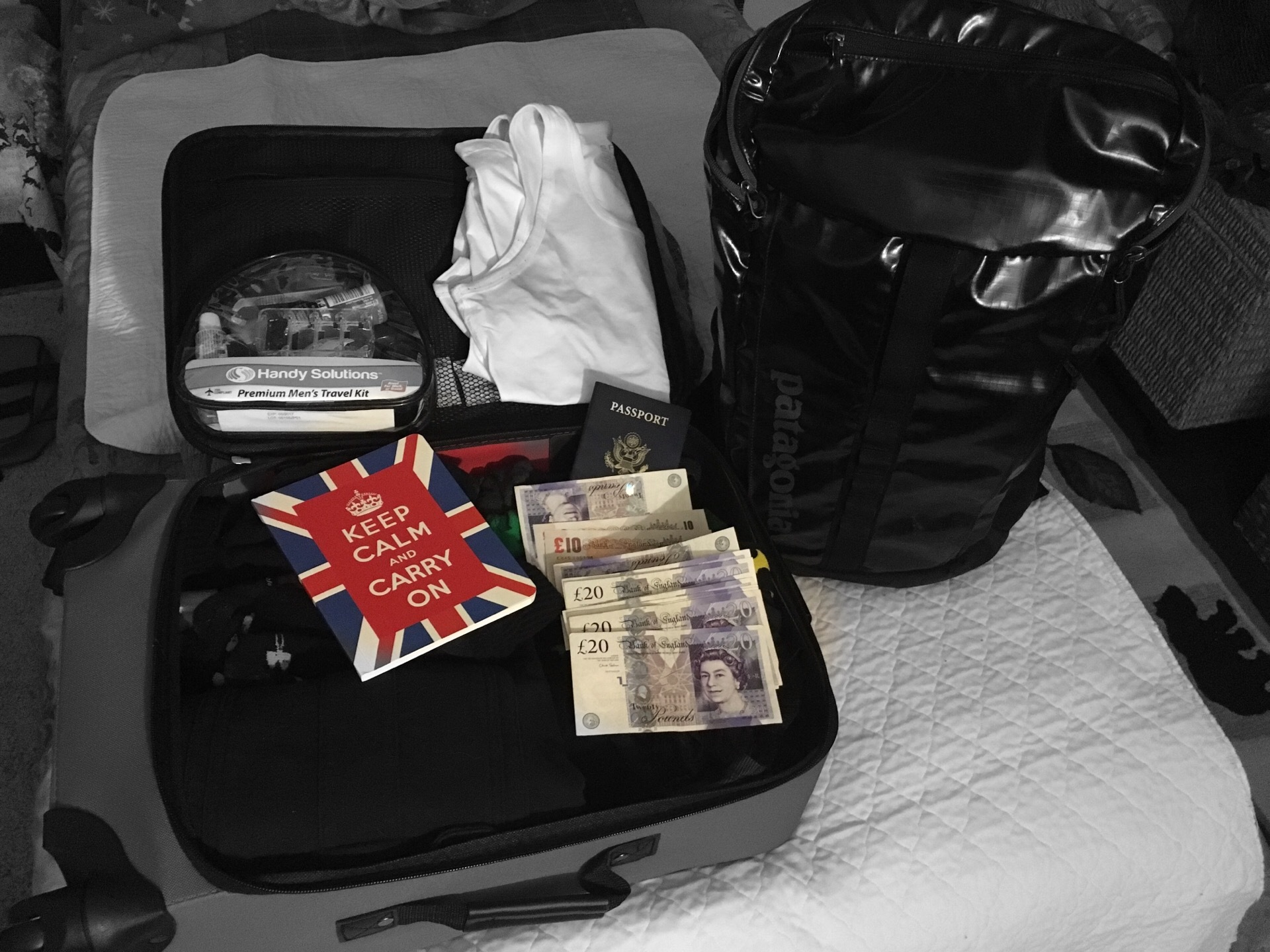 Packing for England