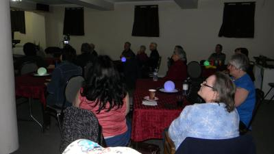 Les membres de la Communauté Évangélique de l'Agneau
