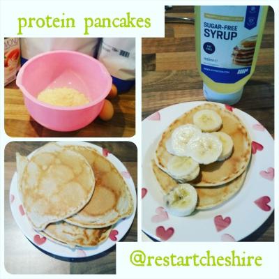 protein pancakes restart coaching