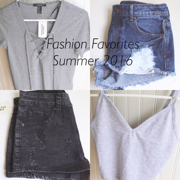 Favorite Fashion Pieces From Summer