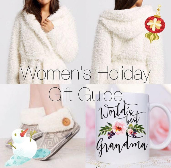 Womans Holiday Gift Guide 2016