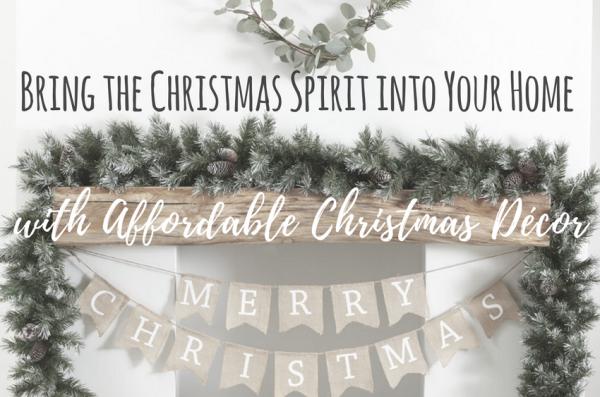 Affordable Christmas Decor Tips, and Tricks