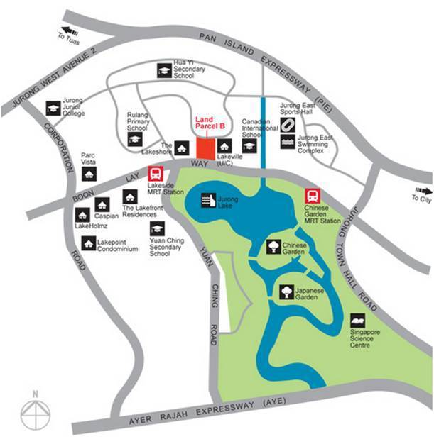 jurong lake land parcel b