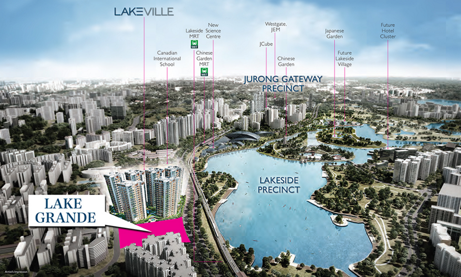 Lake Grande Jurong Gateway Precinct