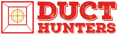 Duct Hunters logo with air duct