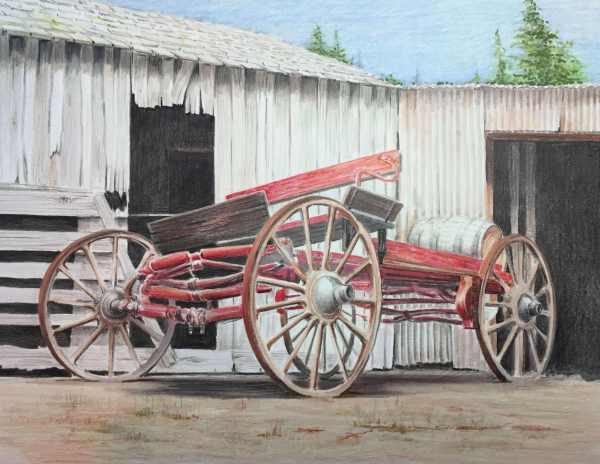 Vinyard wagon
