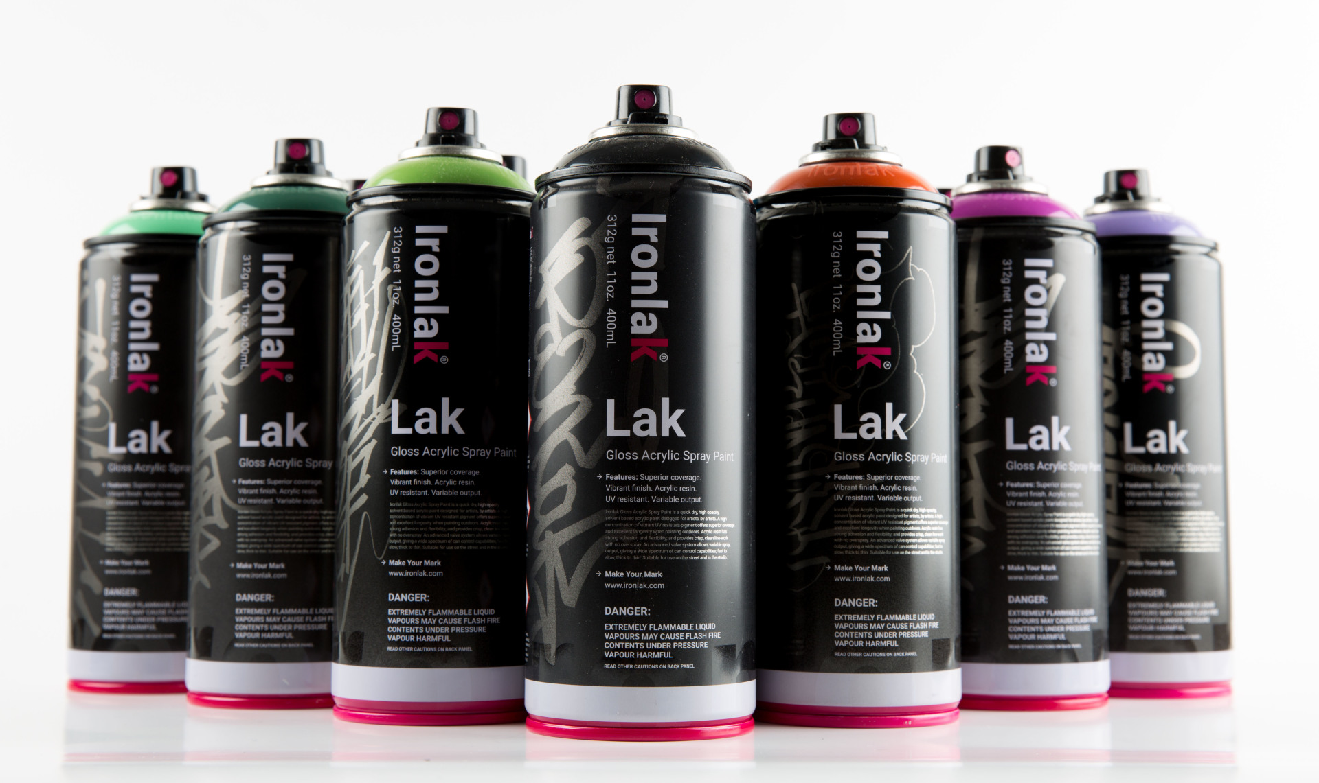 Product Photography with Ironlak
