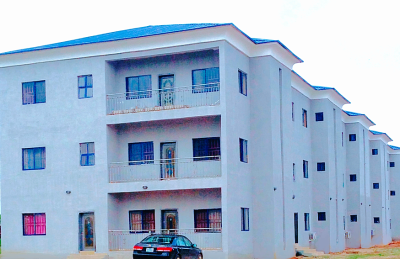 Staff housing connected to the dormitory