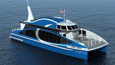 First hydrogen fuel cell e-ferry under construction in SF Bay brings joy to a committed futurist