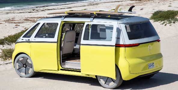 VW's new electric version of its iconic campervan
