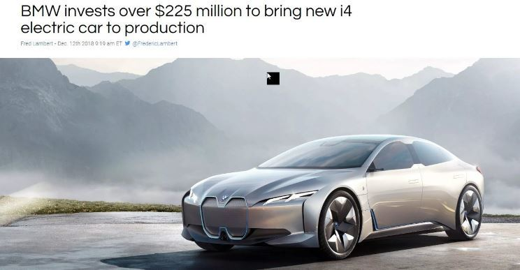 BMW i-4 is coming. Soon we will be spoilt for choice when buying an EV