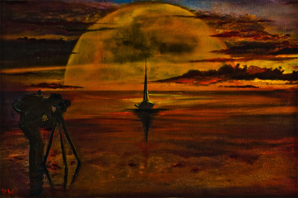 Rolly-Mouchaty, rollymoon, Moon, full-moon, oil-painting, art, oil-on-canvas, unlimited-moon,