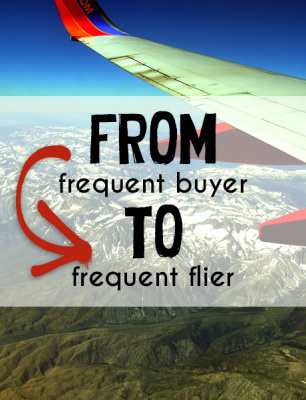 Earning Frequent Flier Miles by Shopping Online