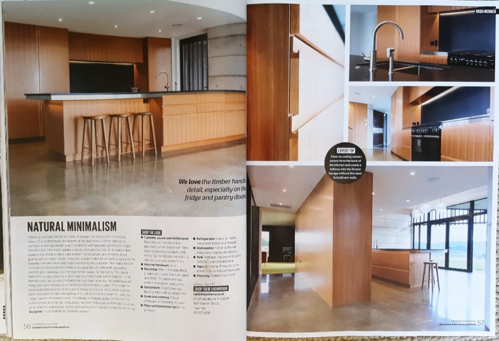 NZ Kitchens & Bathrooms Quarterly feature