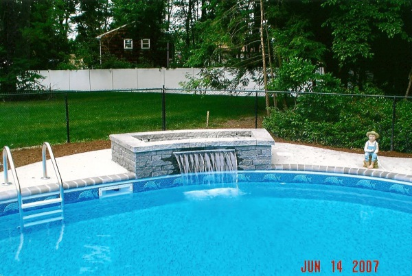 Pool Decks & Waterfalls
