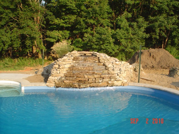 Pool Decks & Waterfalls