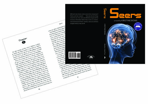 Book cover design and interior pages